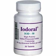 Optimox Iodoral IOD-50, 30 tablets