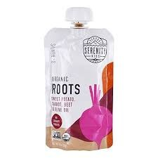 Serenity Kids Food Organic Roots Baby Food for 6 months+, 3.5 oz.