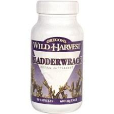Oregon's Wild Harvest Bladderwrack, 90 vegetarian capsules