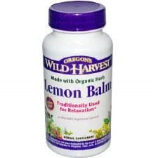 Oregon's Wild Harvest Lemon Balm, 90 vegetarian capsules