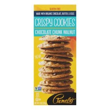 Pamela's Chocolate Chunk Walnut Crisppy Cookies, 6 oz.