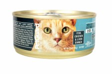 Pet Guard Fish, Chicken & Liver Dinner Canned Cat Food 5.5 oz
