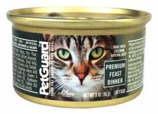 Pet Guard Premium Feast Dinner Cat Canned Food 3 oz