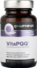 Quality of Life VitaPQQ 20 mg, 30 vegetarian capsules