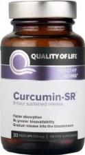 Quality of Life Curcumin-SR, 30 vegetarian capsules