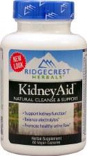 Ridgecrest Herbals Kidney Aid, 60 vegan capsules