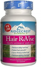 Ridgecrest Herbals Hair ReVive, 120 capsules