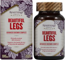 Reserve Life Reserveage Beautiful Legs with Diosmin, 30 capsules