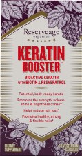 Reserve Life Reserveage Keratin Booster with Biotin, 60 capsules