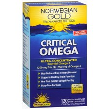 Renew Life Norwegian Gold Critical Omega, 120 soft gels