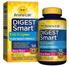 Renew Life Kids Enzyme Berry Blast, 60 tablets