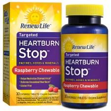 Renew Life Heartburn Stop, 30 chewable tablets