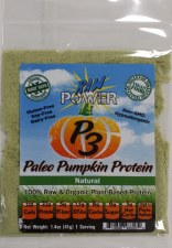 Raw Power P3 Paleo Pumpkin Protein Vanilla Flavor, 1.4 oz.