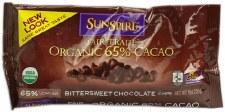 Sunspire Fair Trade Organic 65% Cacao Bittersweet Chocolate Chips, 9 oz.