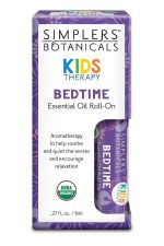 Simplers Botanicals Kids Bedtime Essential Oils, .27 oz.