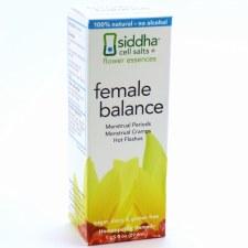 Siddha Flower Essences Female Balance Homeopathic Remedy, 1 oz.