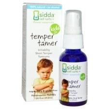 Siddha Flower Essences Kids 2+ Temper Tamer Homeopathic Remedy, 1 oz.