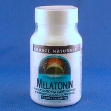 Source Naturals Sublingual Peppermint Melatonin 2.5mg, 120 tablets
