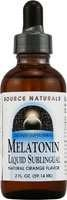 Source Naturals Liquid Sublingual Melatonin, 2 oz.