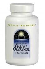 Source Naturals Gamma Oryzanol, 30mg, 100 tablets