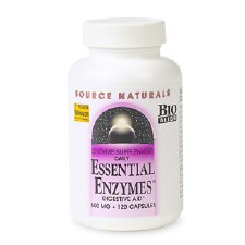 Source Naturals Essential Enzymes, 500mg, 120 capsules