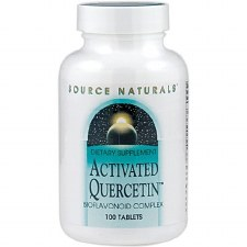 Source Naturals Activated Quercetin, 100 tablets