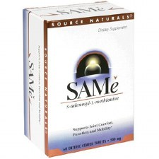 Source Naturals SAMe 200mg, 60 tablets