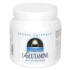 Source Naturals L-Glutamine, 16 oz.
