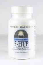 Source Naturals 5-HTP, 100mg, 60 capsules