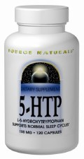 Source Naturals 5-HTP, 100mg, 120capsules