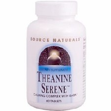 Source Naturals Theanine Serene, 60 tablets