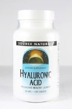 Source Naturals Hyaluronic Acid, 50mg, 120 tablets