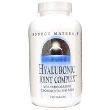 Source Naturals Hyaluronic Joint Comples, 120 tablets