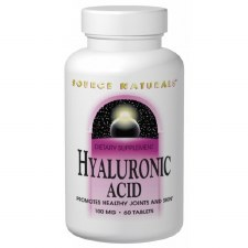 Source Naturals Hyaluronic Acid, 60 capsules