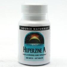 Source Naturals Huperzine A, 60 tablets