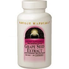 Source Naturals Grape Seed Extract (Proanthodyn), 100mg, 30 capsules