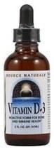 Source Naturals Liquid Vitamin D3, 1 oz.