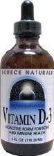Source Naturals Liquid Vitamin D3, 4 oz.