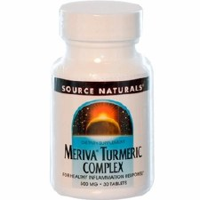 Source Naturals Meriva Tumeric, 500mg, 30 tablets