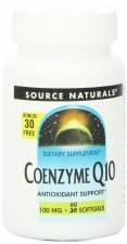 Source Naturals CoQ10, 100mg, 30+30 soft gels