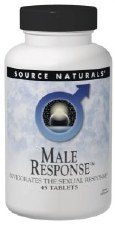 Source Naturals Male Response, 45 tablets