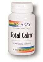Solaray Total Calm, 30 vegetarian capsules
