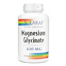 Solaray Magnesium Glycinate, 120 vegetarian capsules