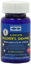 Trace Minerals Research Complete Children's Chewable, 60 wafers