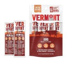 Vermont Real Sticks BBQ Beef Stick, 6 pk.