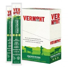 Vermont Smoke & Cure Cracked Pepper Beef & Pork Stick, 1 oz.