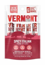 Vermont Smoke & Cure Spicy Italian Beef Stick, 6 pack, 3 oz.