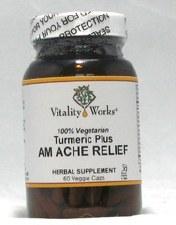 Lori's Turmeric AM Ache Relief, 60 vegetarian capsules