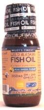 Wiley's Finest Peak Omega-3 Liquid Wild Alaskan Fish Oil, 2.03 oz.