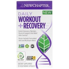New Chapter Daily Workout Recovery, 30 vegetarian capsules